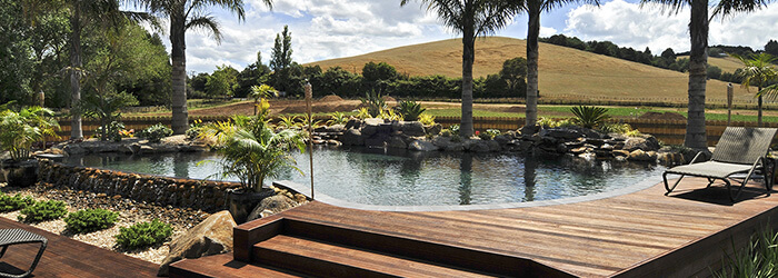 Swimming pools hill design engineering auckland for Pool design nz